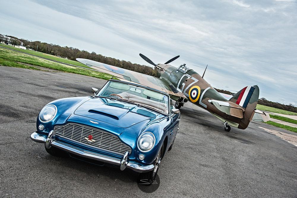 Stella Scordellis Aston Martin DB5 & Hurricane Watermarked.jpg