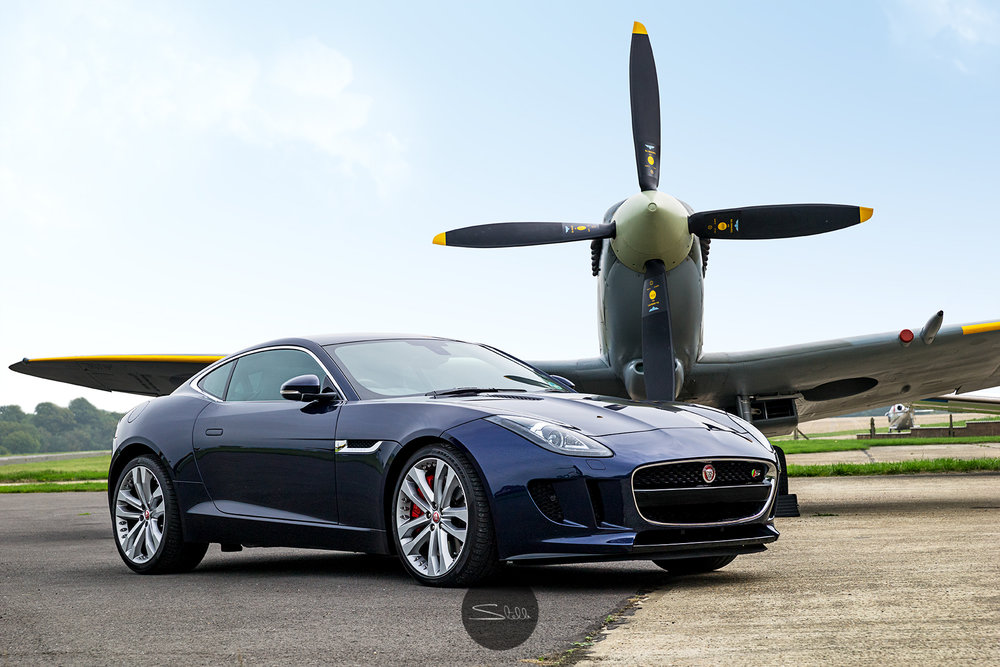 Stella Scordellis Jaguar F-Type & Spitfire Watermarked.jpg