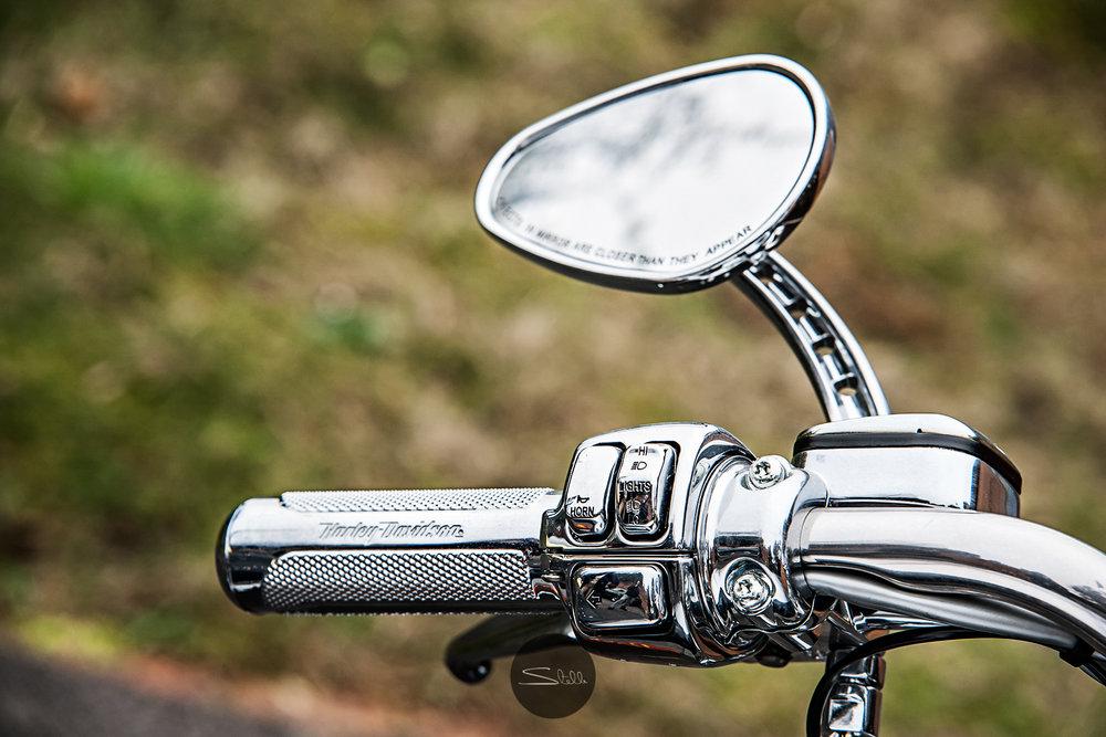 Stella Scordellis Harley Davidson V-Rod Mirror Watermarked.jpg