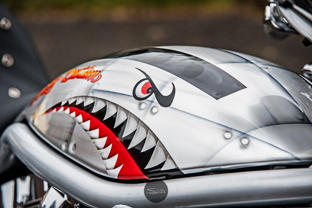 Stella Scordellis Harley Davidson V-Rod Tank Watermarked.jpg