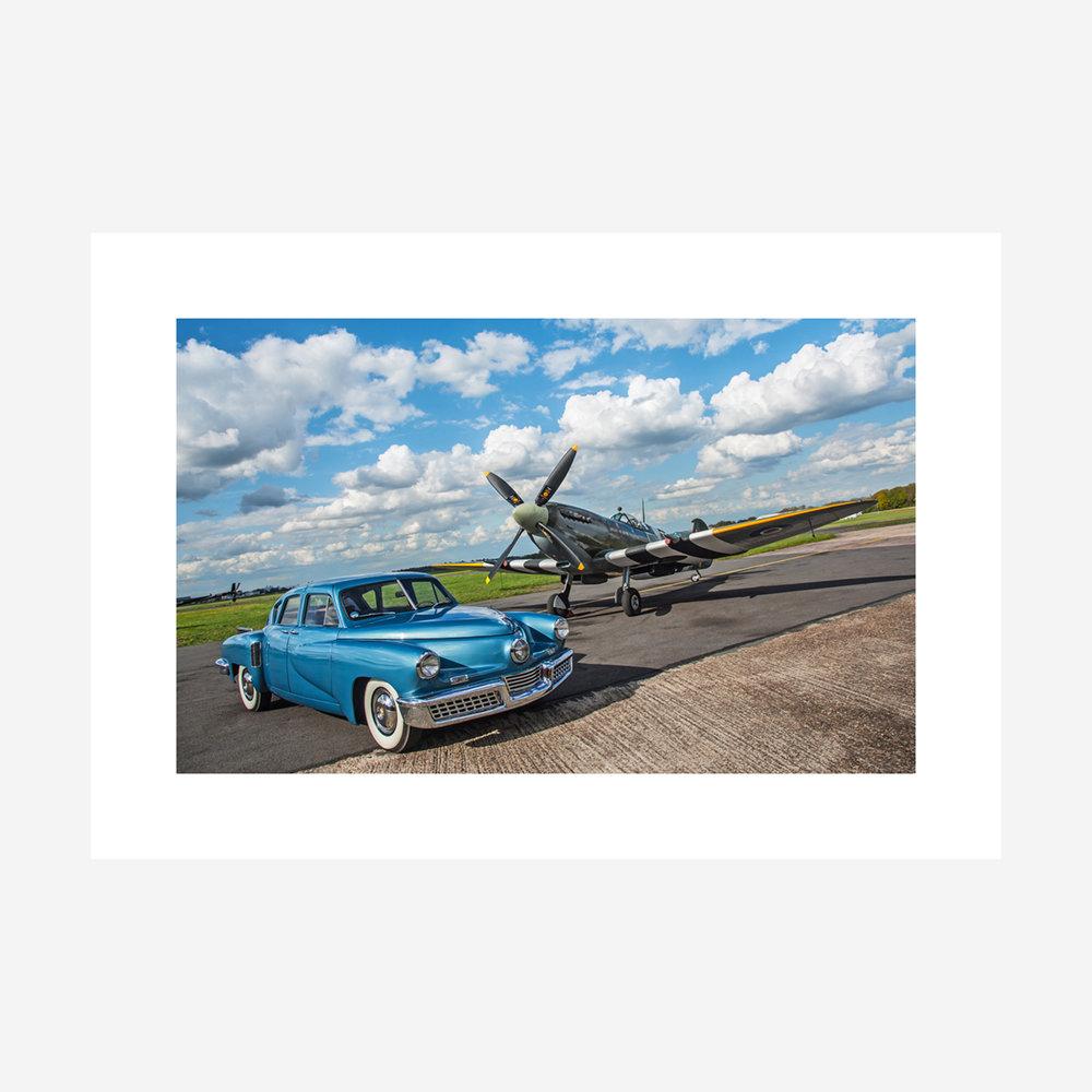 Tucker 48 & Spitfire - 32x22.jpg