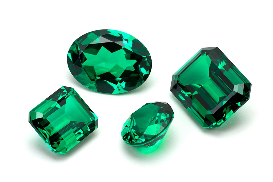 EMERALD   Emeralds are beautiful but not as tough as other gemstones and so require care with the ring setting. This can be a great option if your girlfriend loves green. As with Ruby, Emeralds come in many qualities and tones.