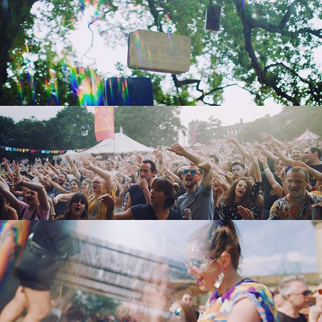 It's Friday, we've had enough of the cold already, and we're thinking back to the amazing Kaleidoscope festival at @yourallypally we shot this summer! . . . . . #kaleidoscope #alexandrapalace #allypally #filmmaking #videoproduction #dop #videoediting #summer #london #ursaminipro #eva1 #cinematography