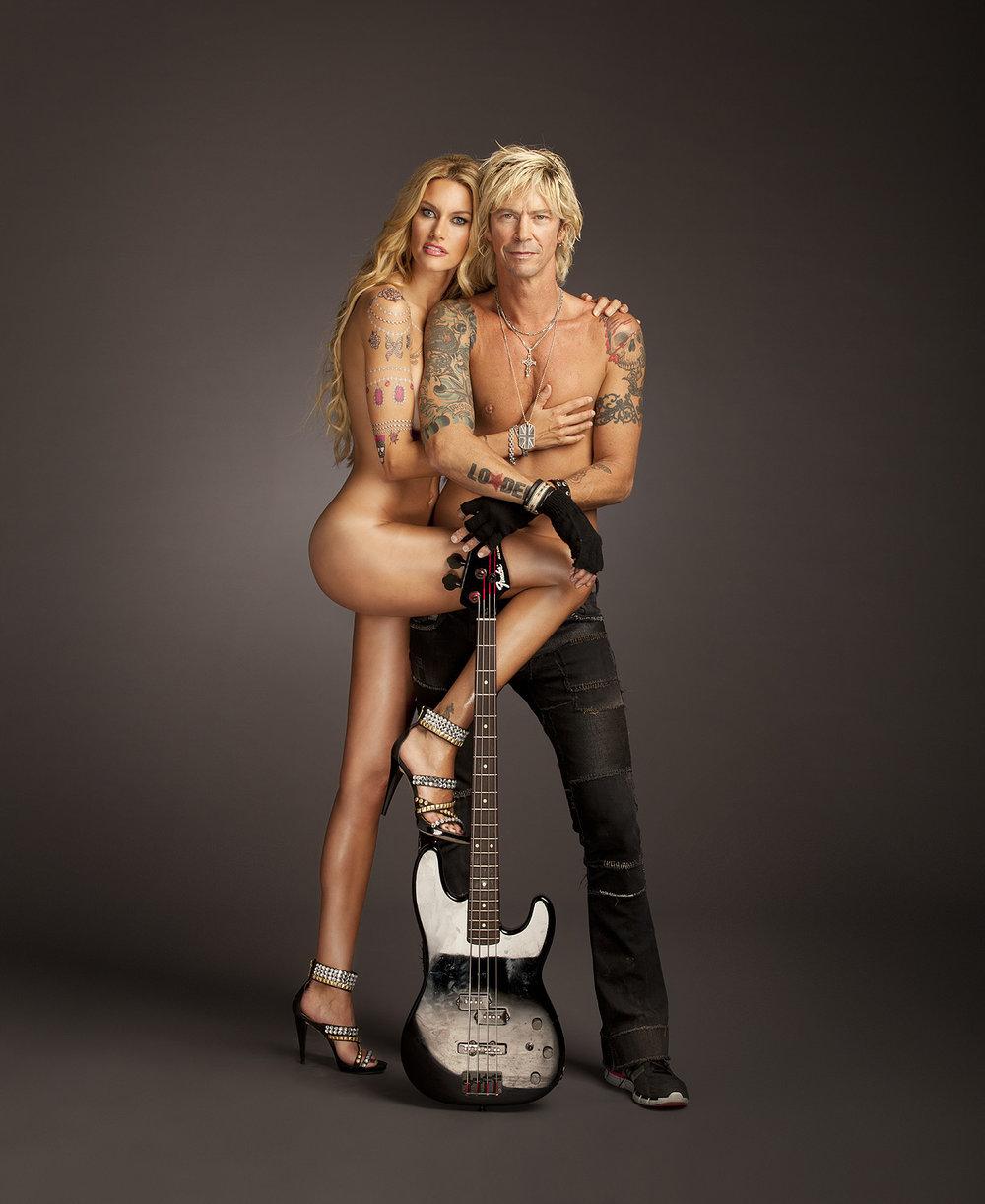 Duff  McKagan & Susan Holmes