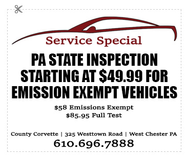 corvette-service-PA-state-inspection.jpg