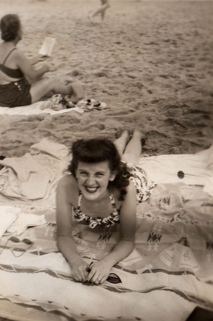 Anne at Point Pleasant, NJ circa 1948