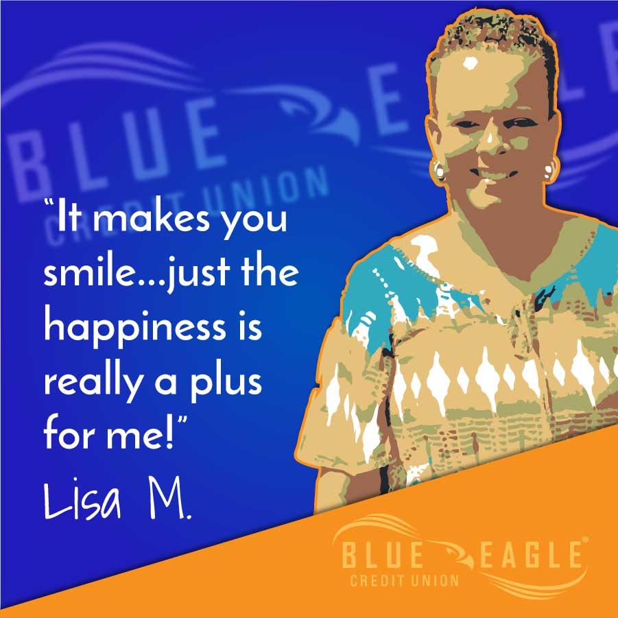 """It makes you smile... just the happiness is really a plus for me!"" Testimonial by Lisa M."