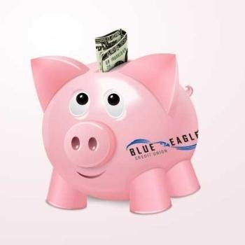 Blue Eagle Credit Union Piggy Bank