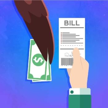 Eagle Paying Bills