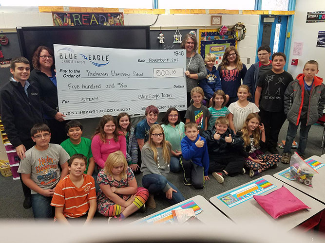 Buchanan Elementary Check Presentation