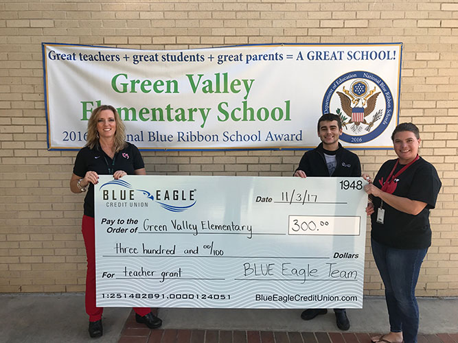 Green Valley Elementary Check Presentation