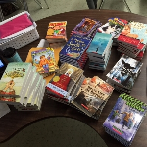 Books Purchased with Blue Eagle Teacher Grant