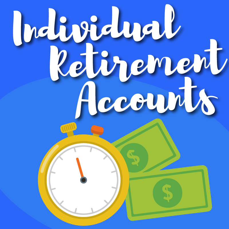 Individual Retirement Accounts Graphic