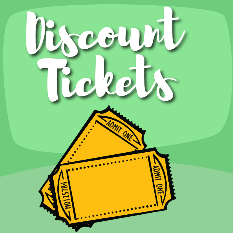 Discount Tickets Graphic