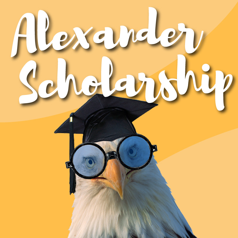 Alexander Scholarship Graphic
