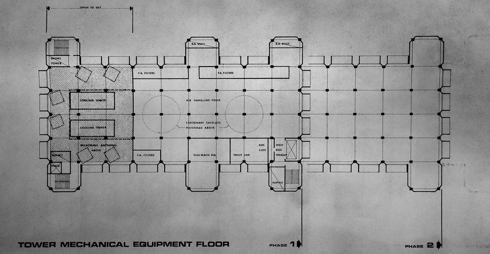 Mechanical floor plan. Credit:  The Intercept.