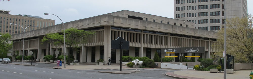 White Plains Public Library. Credit: Mid-Century Mundane.