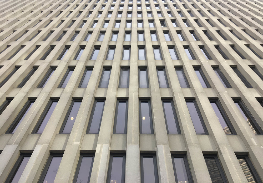 Lowenstein Building facade. Credit: NYC Urbanism, 2017.