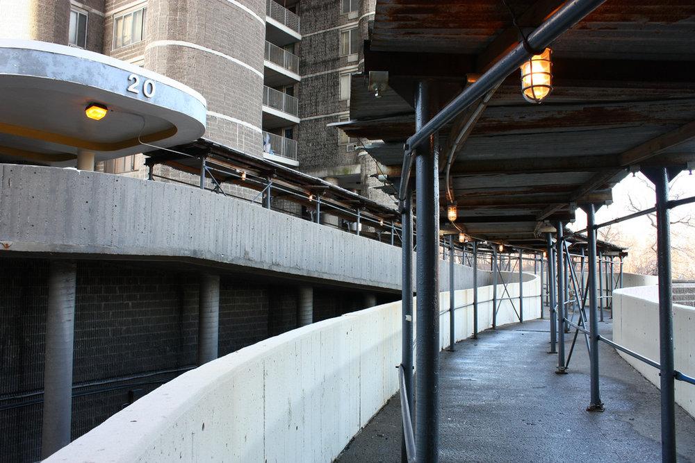 Entranceway Ramp