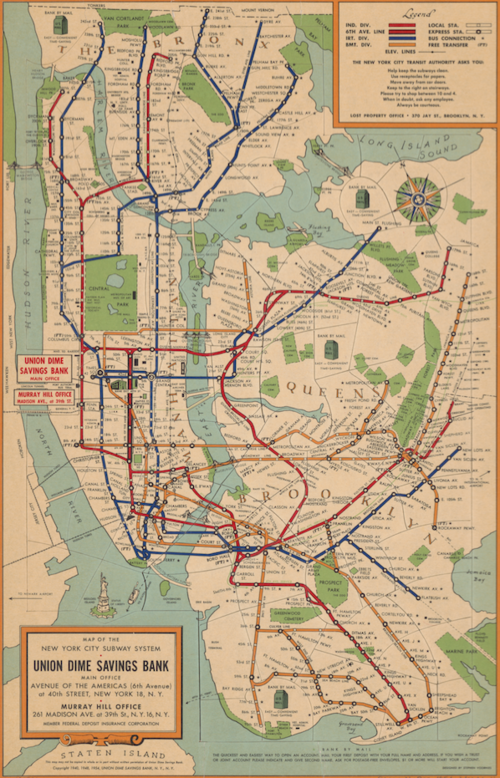 Bryant Park Subway Map.Maps And Drawings Nyc Urbanism