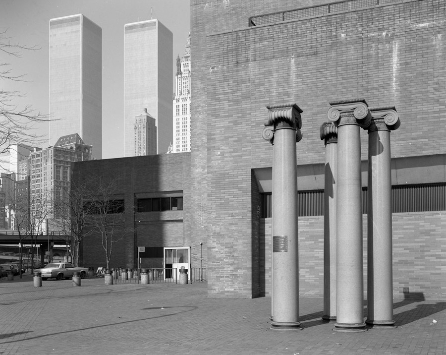 Columns from the 1890 Rhinelander Building