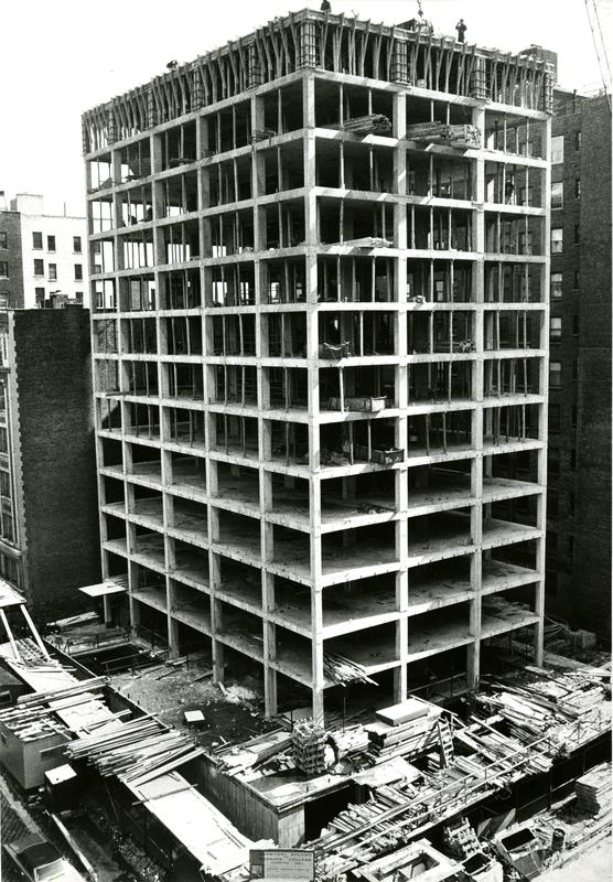Altschul Hall and McIntosh Center construction, 1967