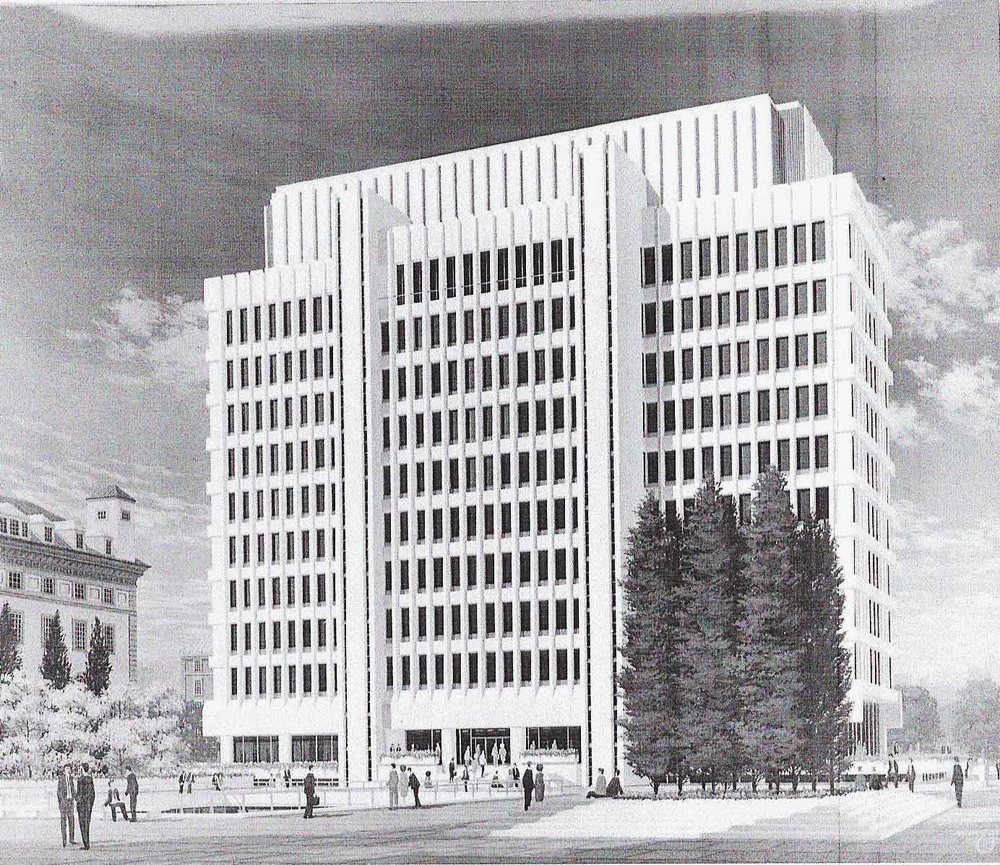 Columbia International Affairs Building rendering