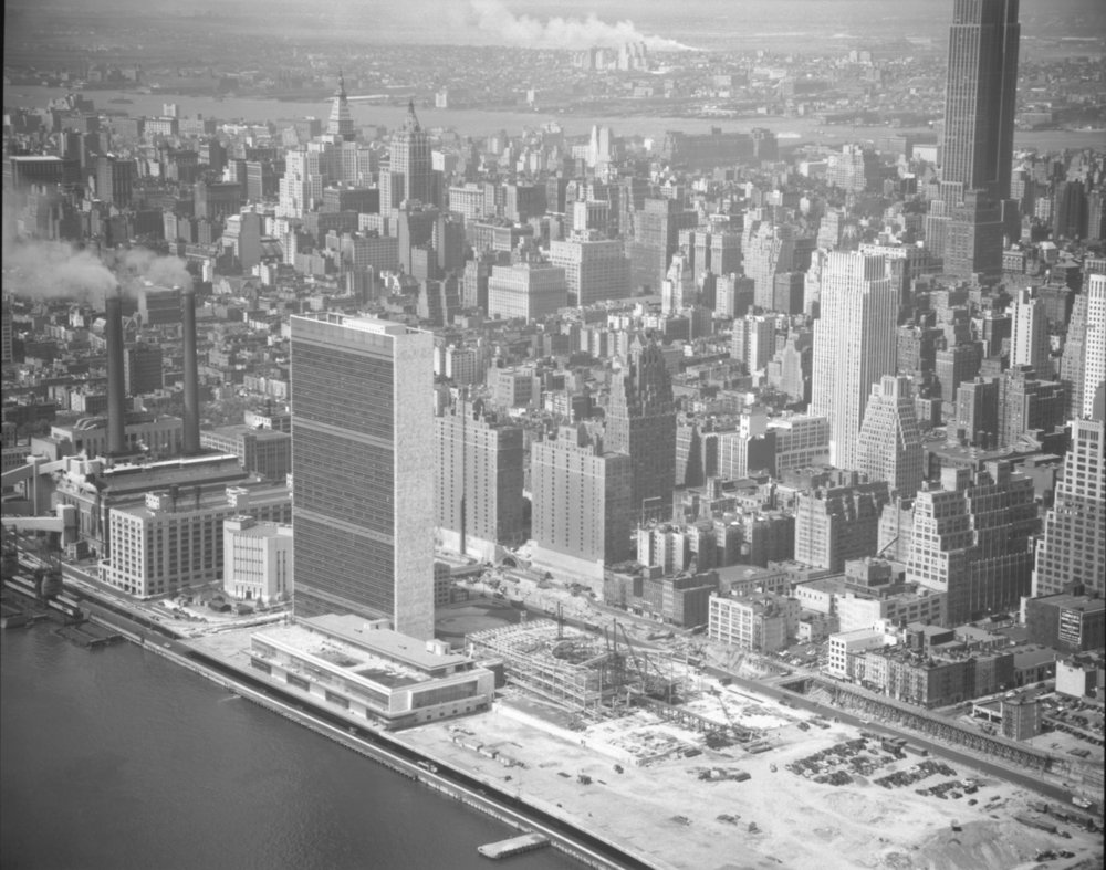 Construction on the United Nations