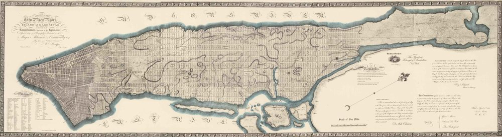 John Randel's Commisioner's Plan of 1811 Map