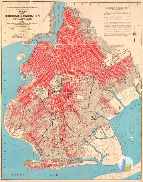 Map Of New York Brooklyn.Maps And Drawings Nyc Urbanism
