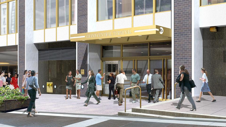 Copy of 245 Park Avenue Entrance