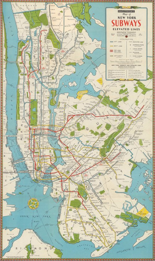 Subway Map Nyc Nj.Maps And Drawings Nyc Urbanism