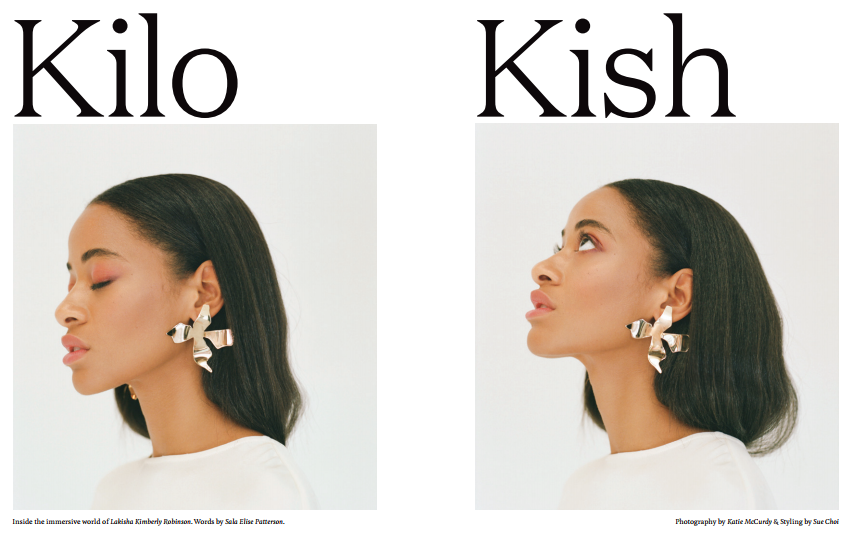 Kilo Kish, singer songwriter, for KINFOLK