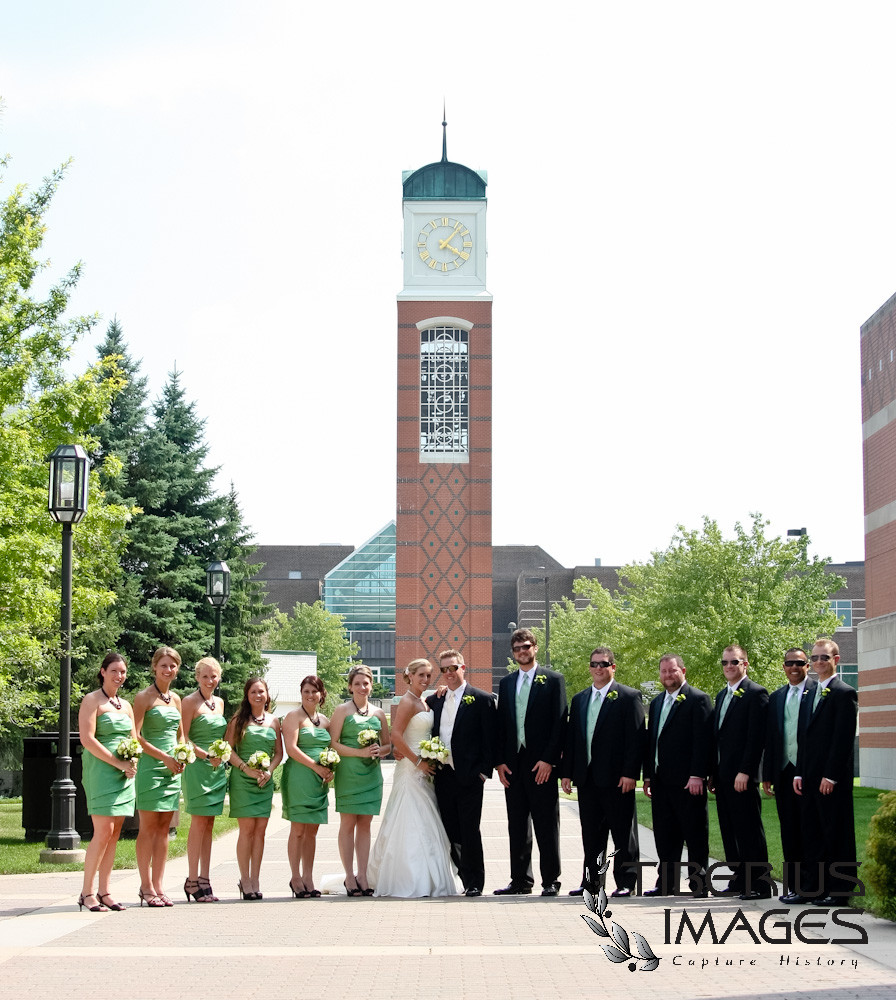 wedding at grand valley state