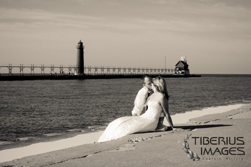 lake michigan trash the dress, grand rapids wedding photographer (16)