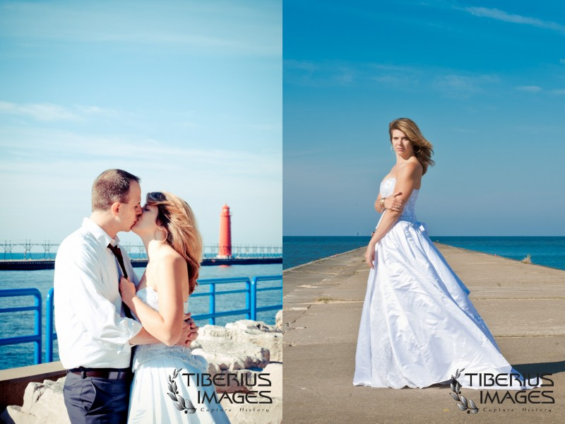 lake michigan trash the dress, grand rapids wedding photographer (17)