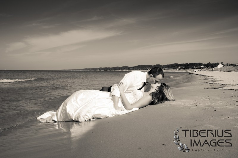 lake michigan trash the dress, grand rapids wedding photographer (5)