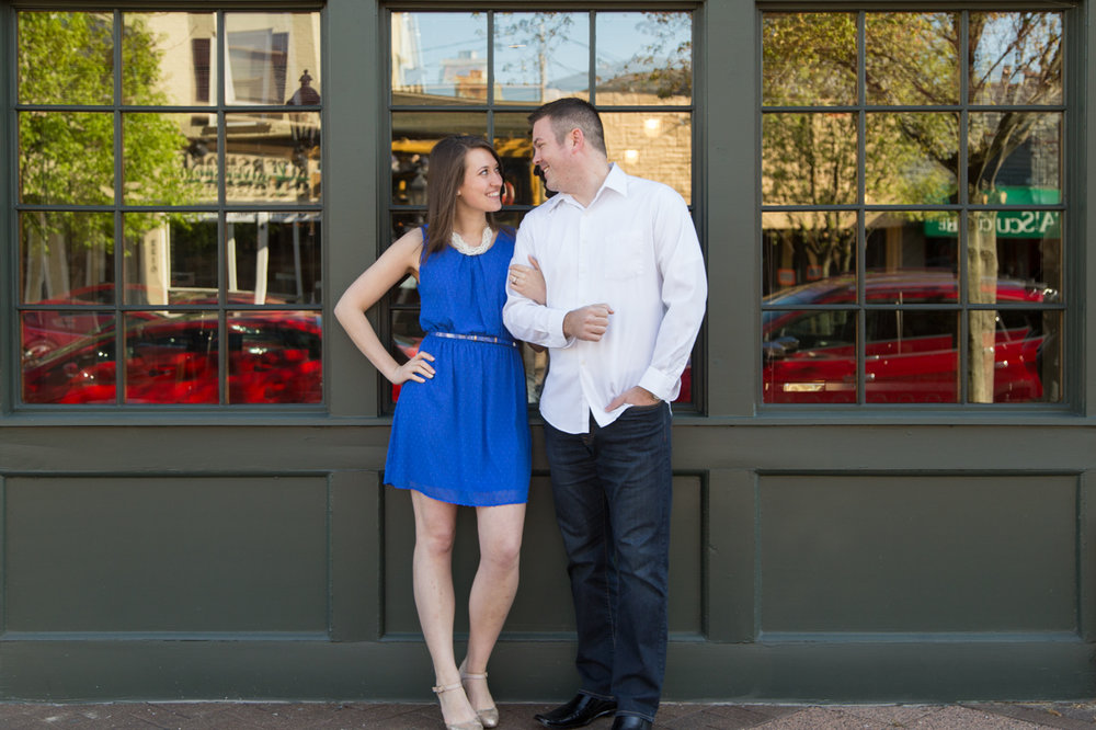 East Grand Rapids engagement photos with Ken & Mallory