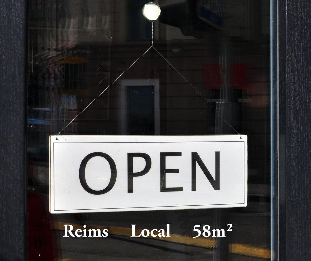 local commercial professionnel libérale hyper centre reims