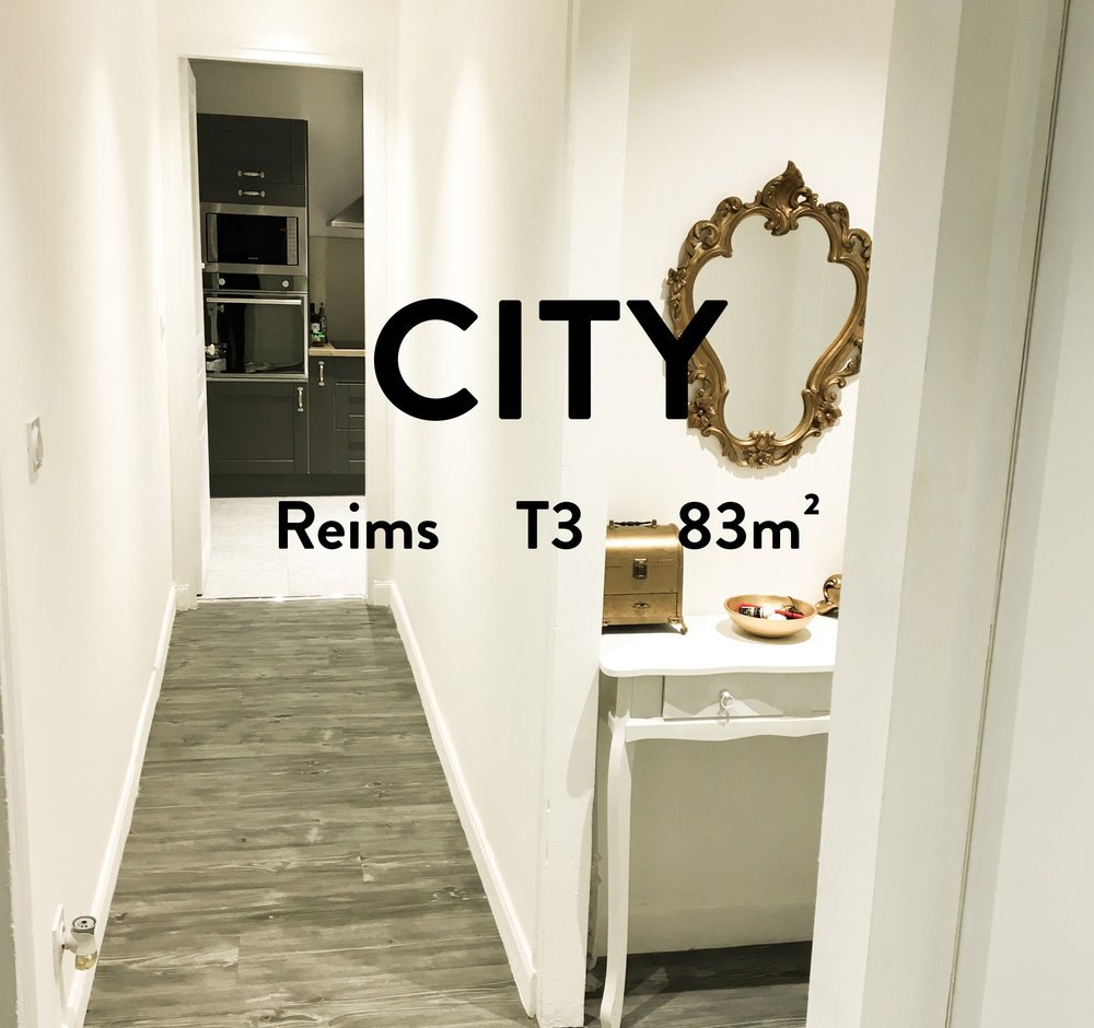 appartement type 3 reims 2 chambres hyper centre