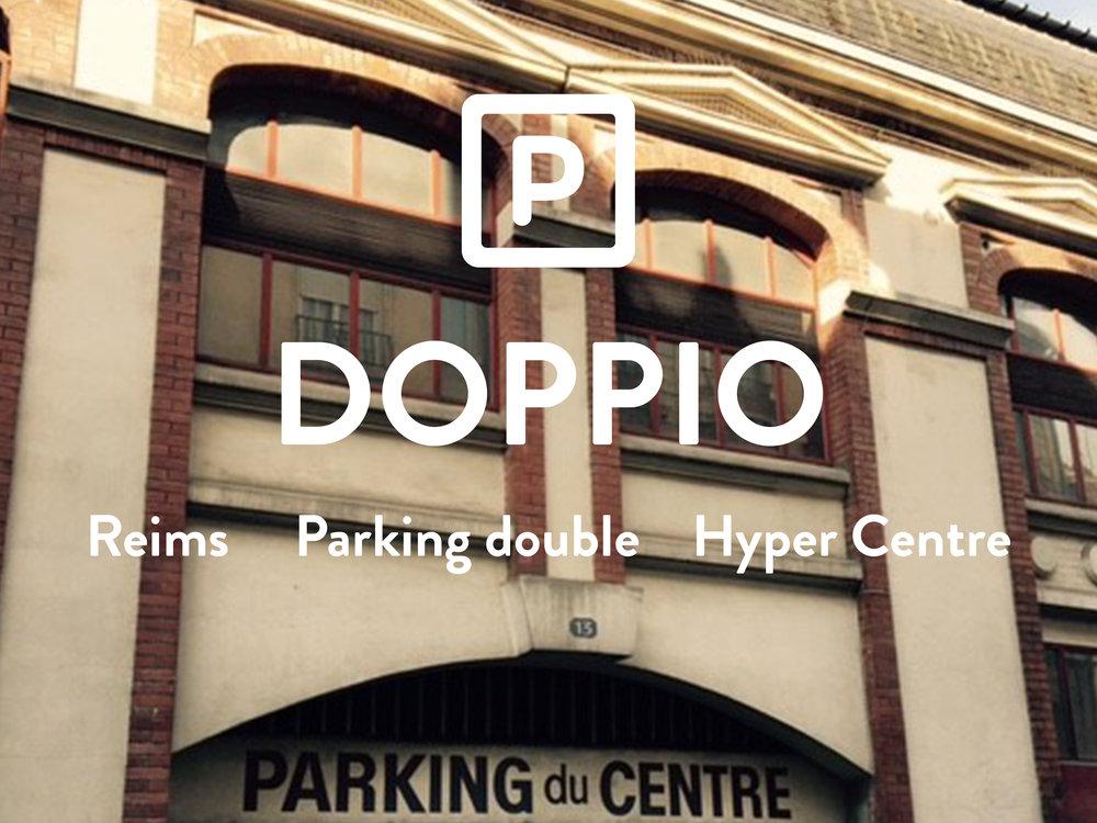 DOPPIO - Parking double - Hyper Centre Ville  130€ +10€ de charges