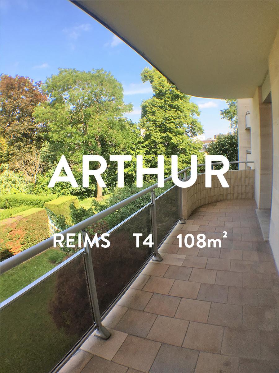 ARTHUR - T4 - Secteur Moissons  940€ + 110€ de charges dont TEOM