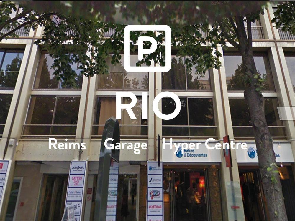 RIO - Garage - Place d'Erlon  92€ +8€ de charges