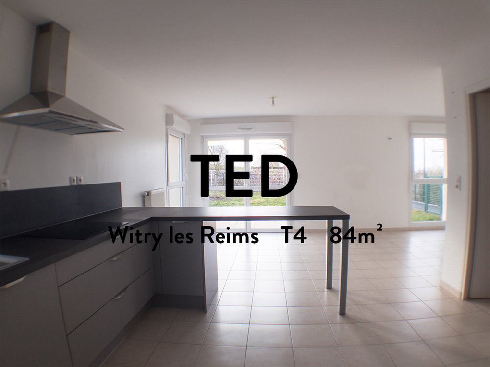 TED - T4 - WITRY LES REIMS  900€ + 71.50€ de charges