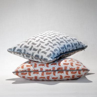 Achillea no.5   Small piped cushion