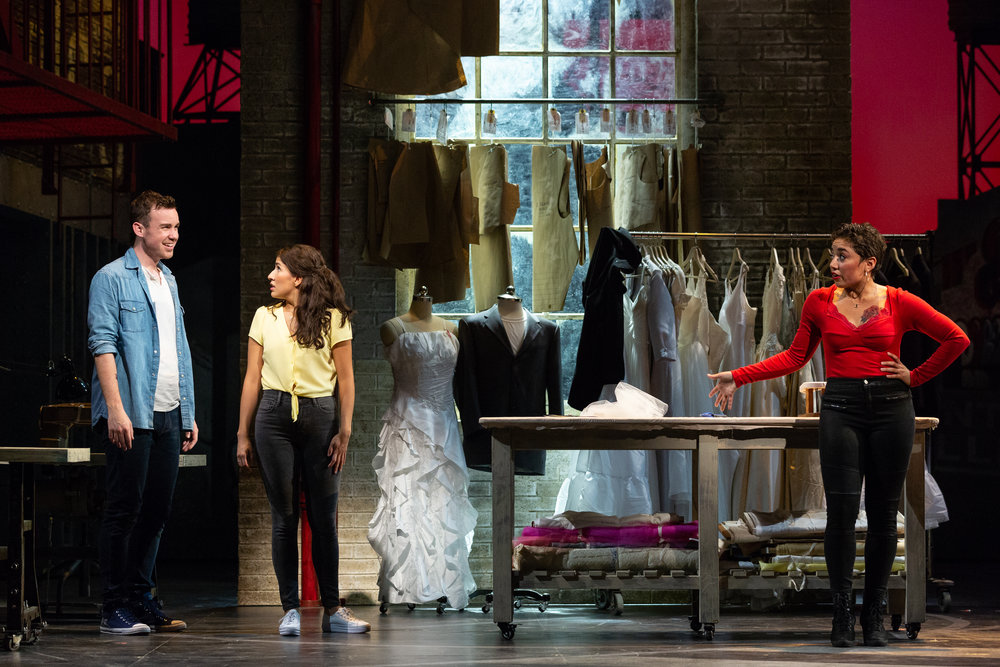 """""""All the leads were excellent, with Joseph Leppek's Tony capturing both the ardor and the fragility of his doomed love for Maria, Vanessa Becerra."""" - —Opera Wire"""