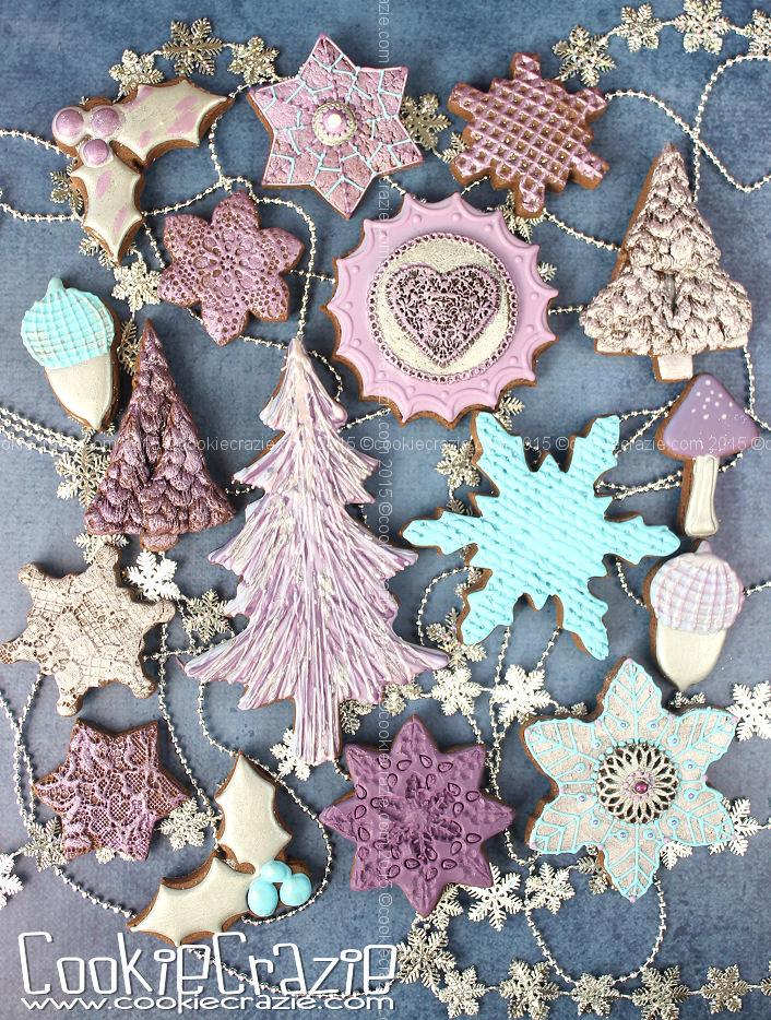 Elegant Dimensional Snowflake Cookies (Tutorial)