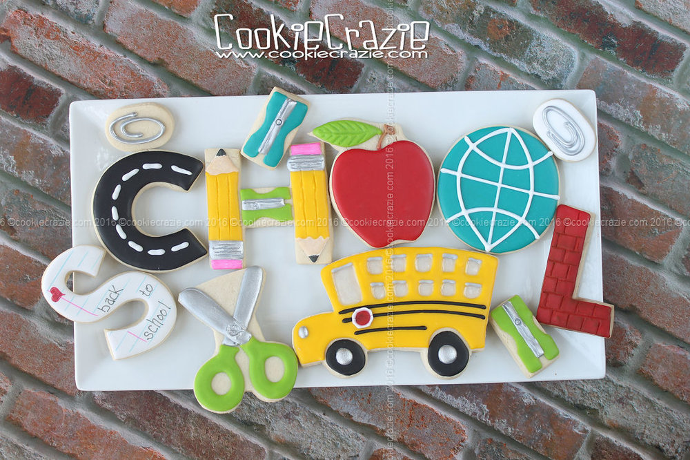 2016 Back to School Cookie Collection