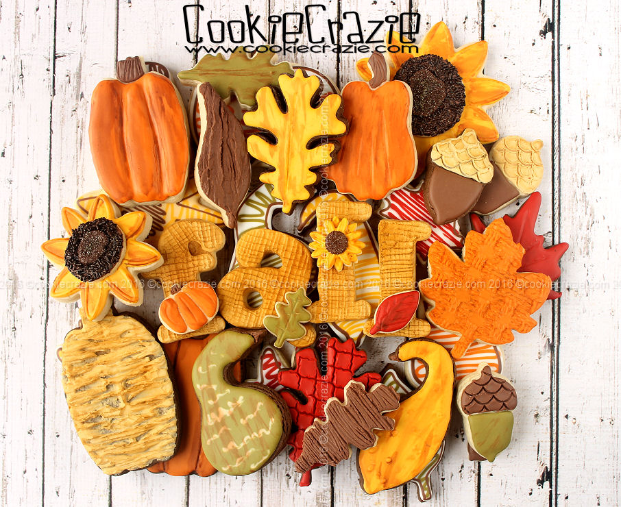 First Fall Decorated Cookie Collection