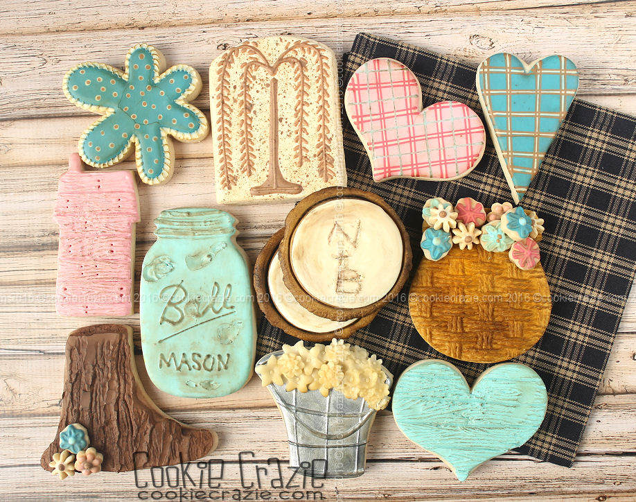 2017 Pre-CookieCon Classes: Going Rustic